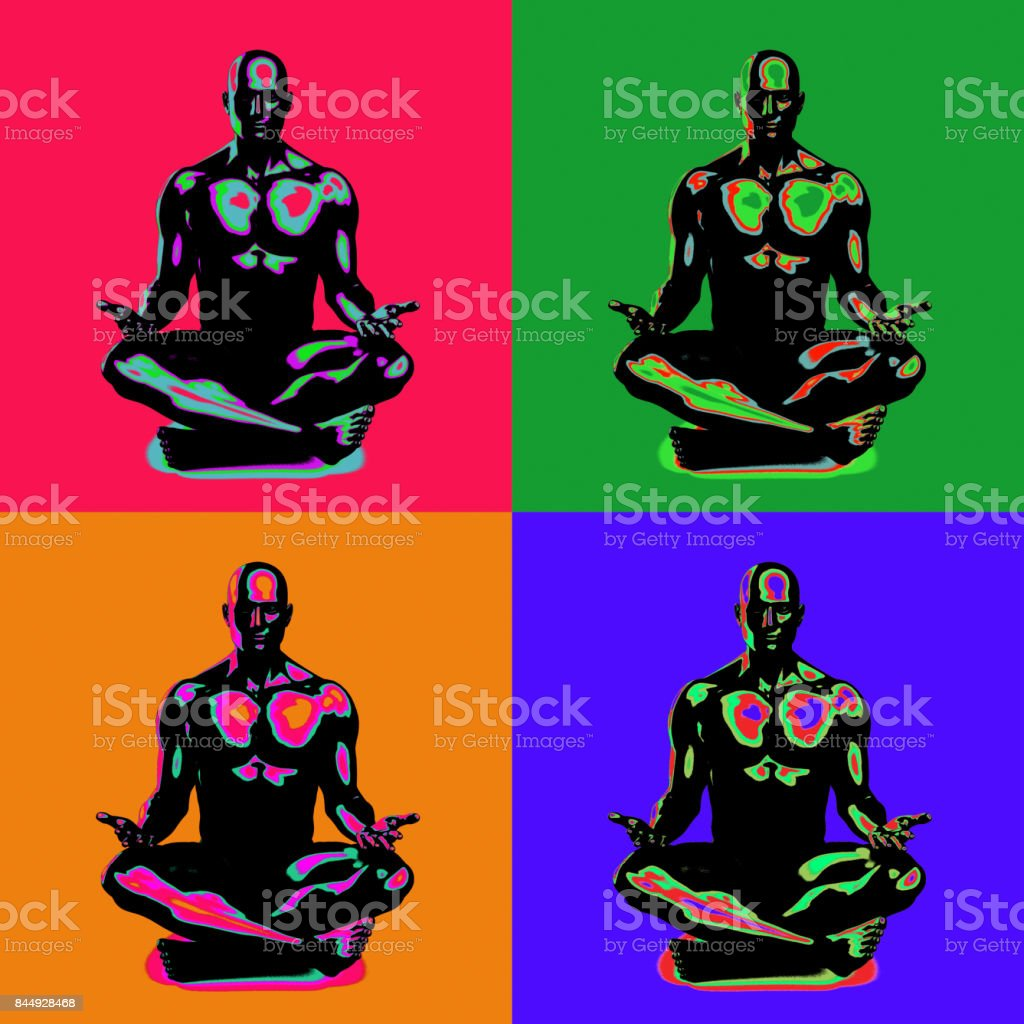 Spirituality and Enlightenment stock photo