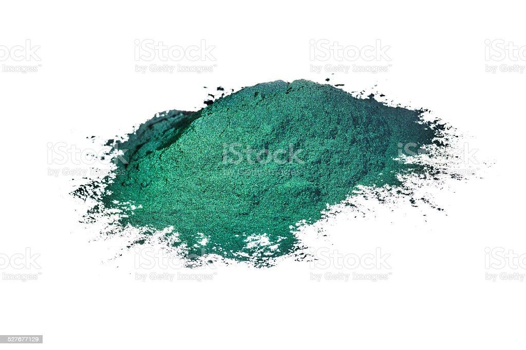 Spirulina isolated on white stock photo