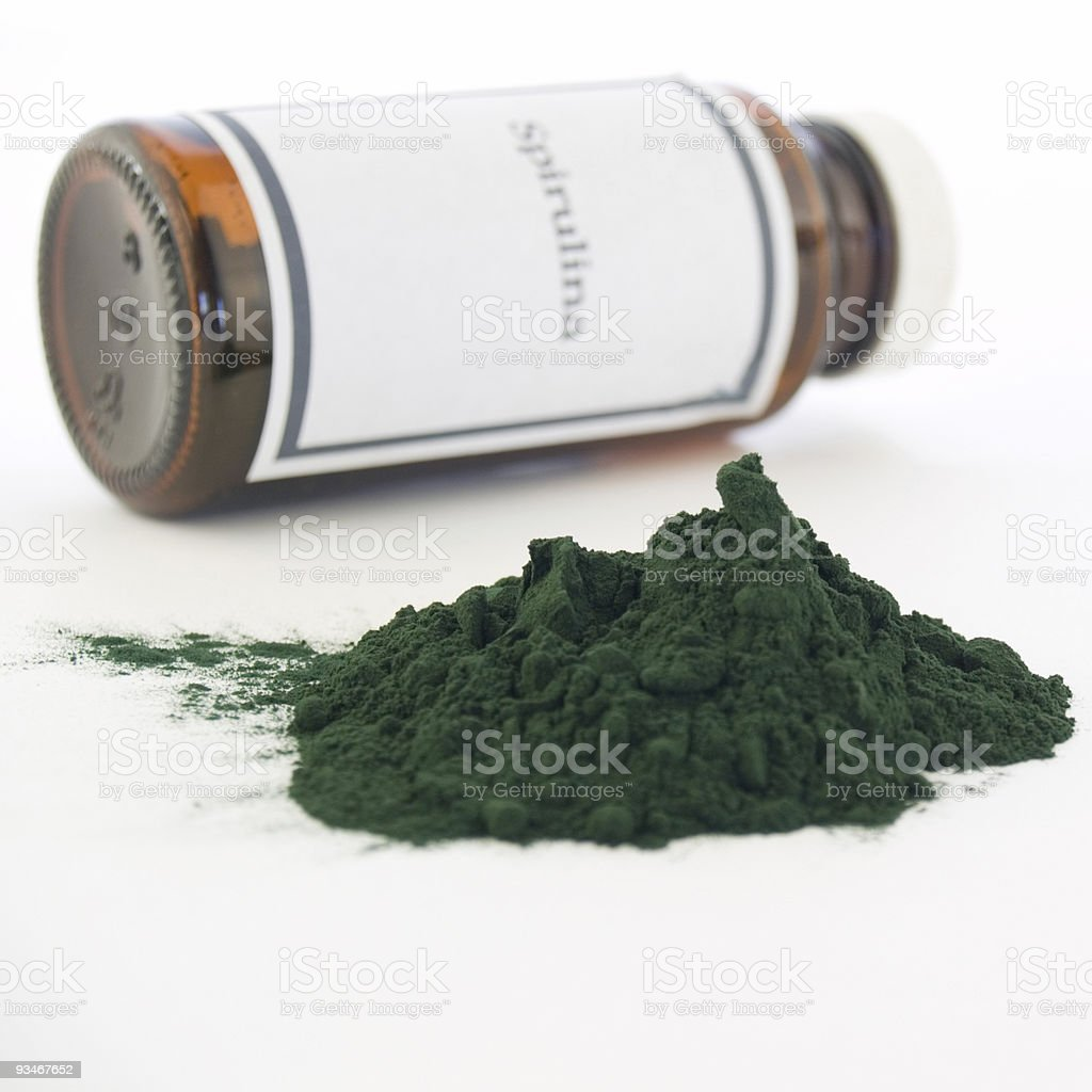 Spirulina royalty-free stock photo