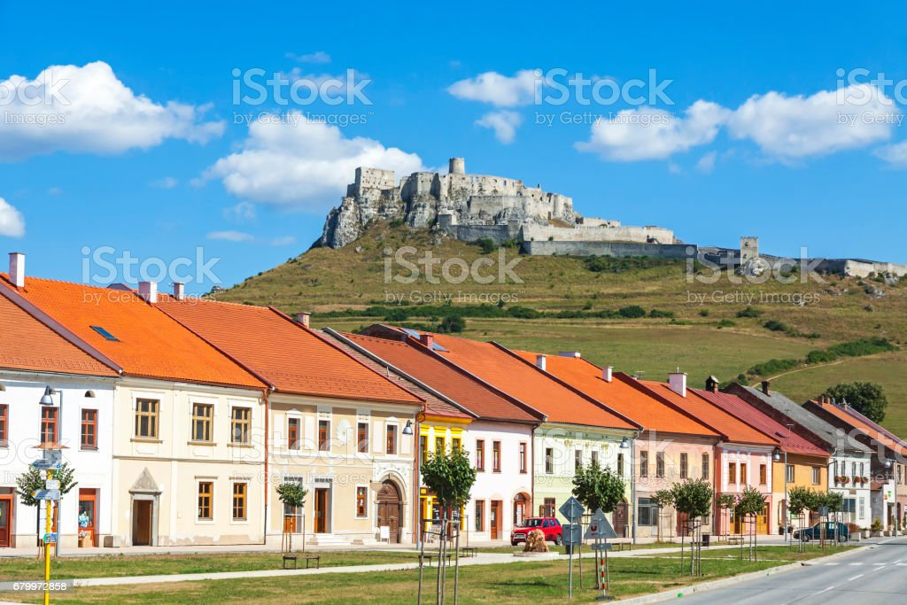 Spisske Podhradie Town Presov Region Slovakia Stock Photo
