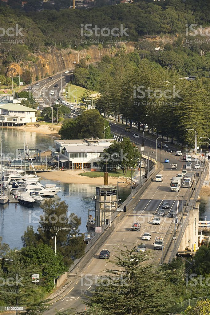 Spit Bridge royalty-free stock photo