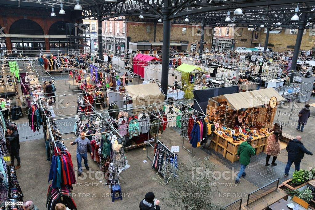 Spitalfields Market stock photo