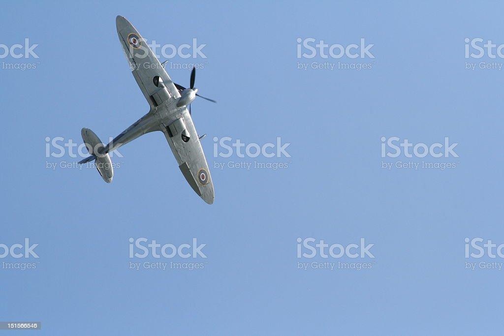 Spitfire Aircraft stock photo