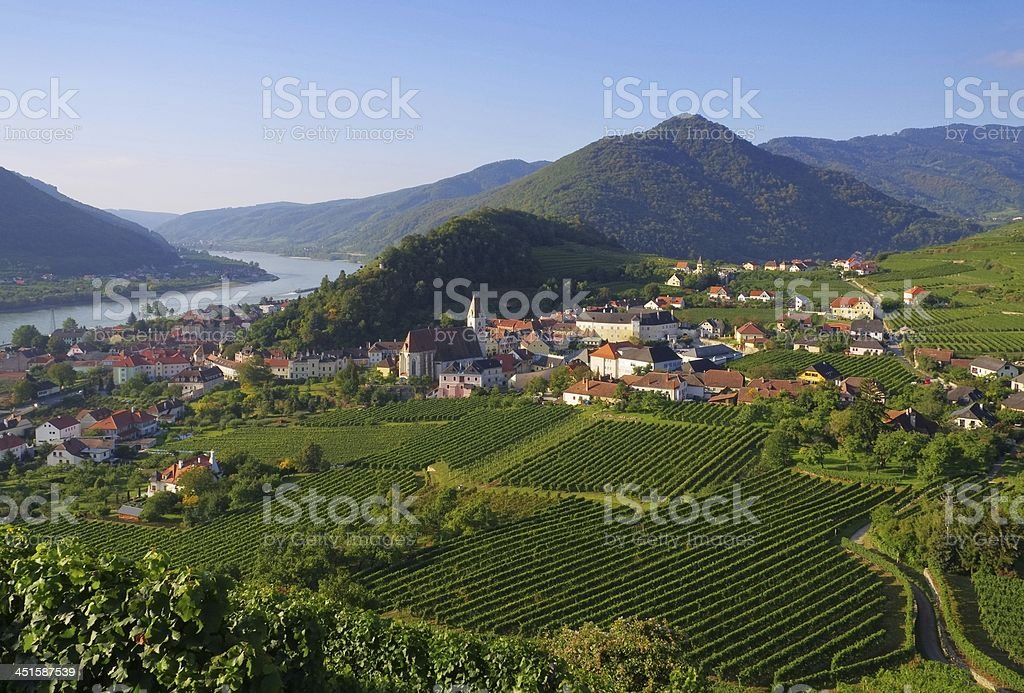 Spitz in Wachau stock photo