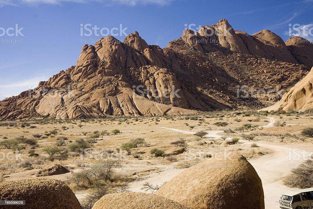 spitzkoppe namibia royalty-free stock photo