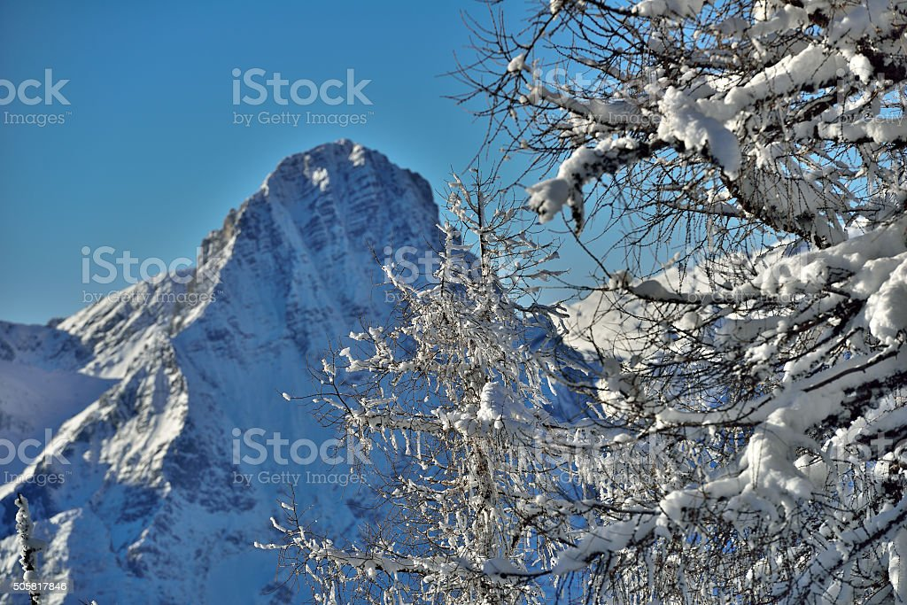 Spitzmauer - A mountain in upper Austria stock photo