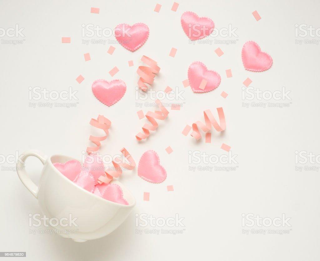 Splash of love. royalty-free stock photo