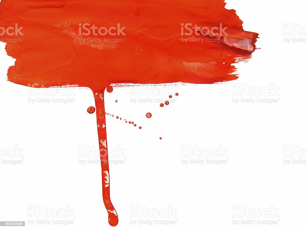 Splash Paint Series royalty-free stock photo