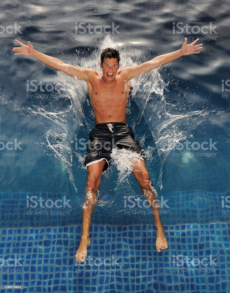 Splash !!! (XXXL) royalty-free stock photo