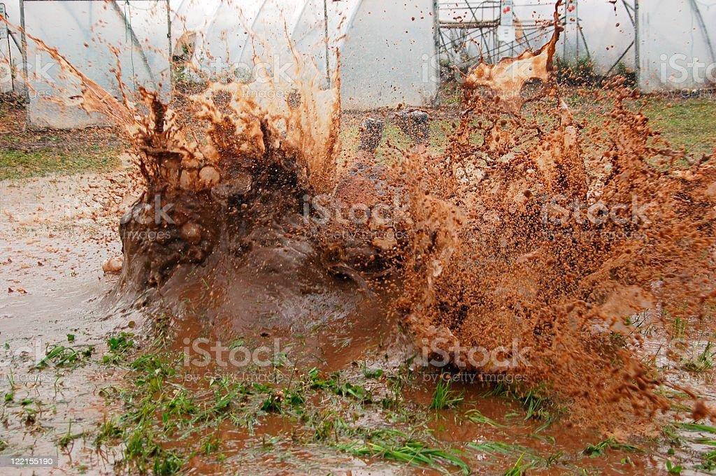 Splash! stock photo