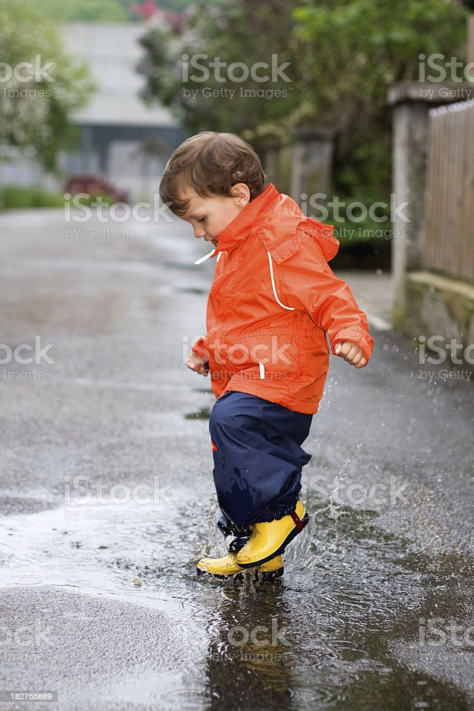 Splash ! royalty-free stock photo