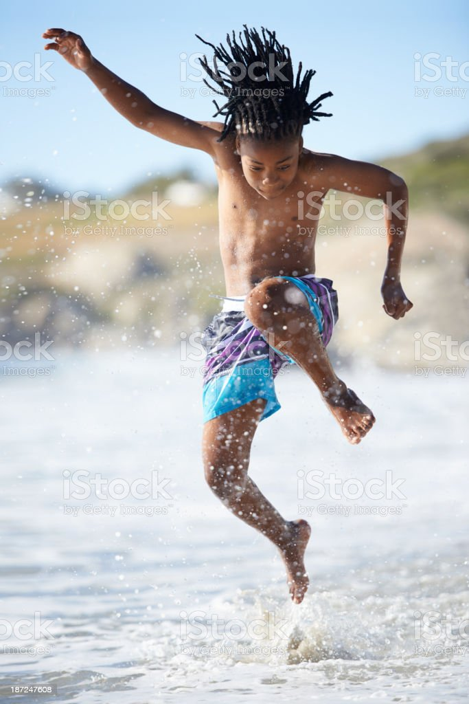 Splash! stock photo
