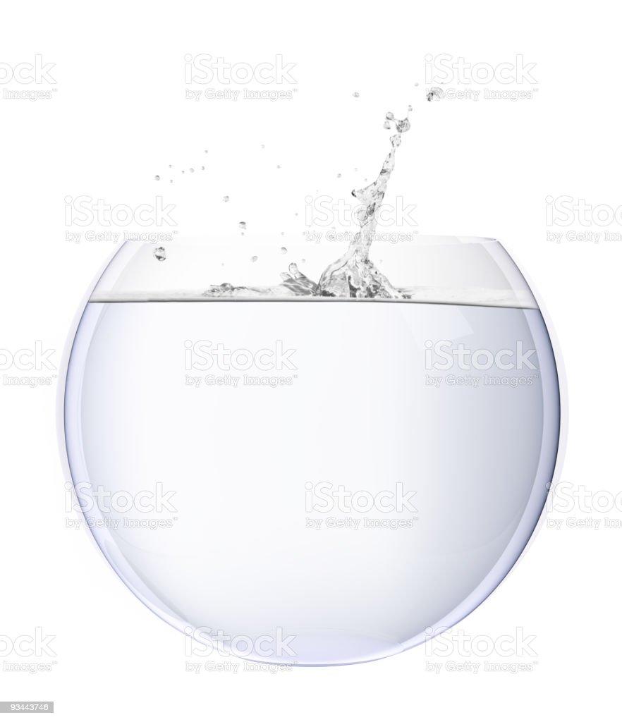 Splash Lizenzfreies stock-foto