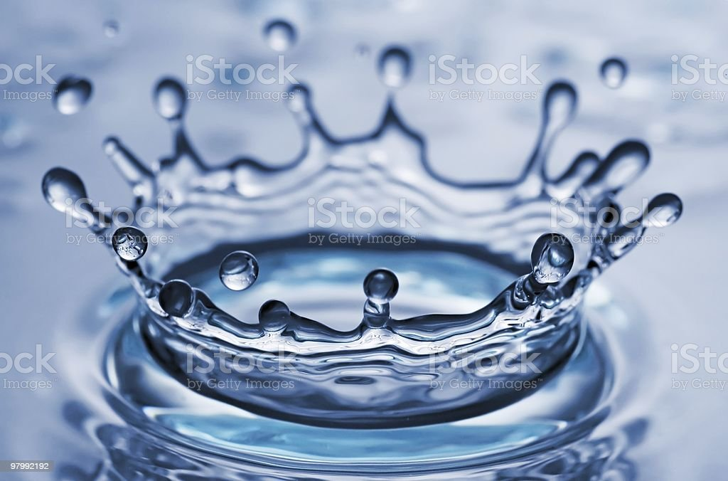 splash royalty free stockfoto