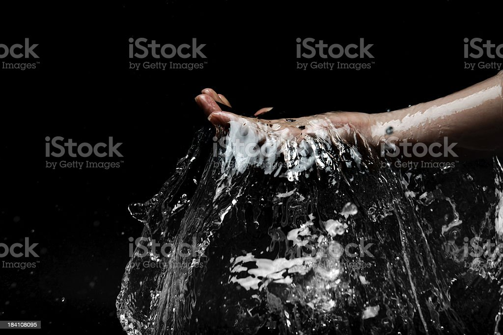 splash water royalty-free stock photo