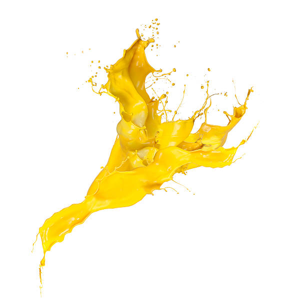 splash yellow​​​ foto