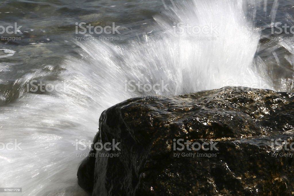 splash06 Lizenzfreies stock-foto