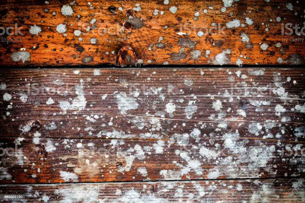 Splashed Wooden Texture Background foto stock royalty-free