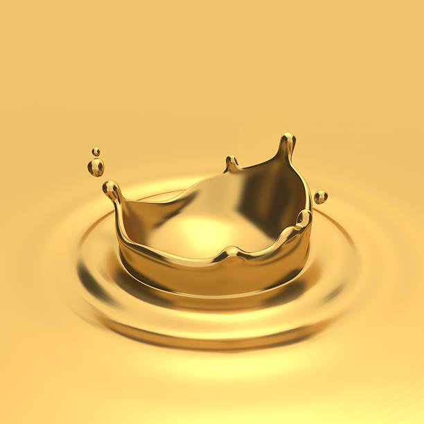 Splashes of gold. – Foto