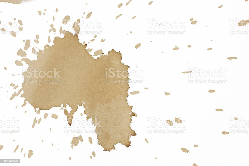 Splashes royalty-free stock photo
