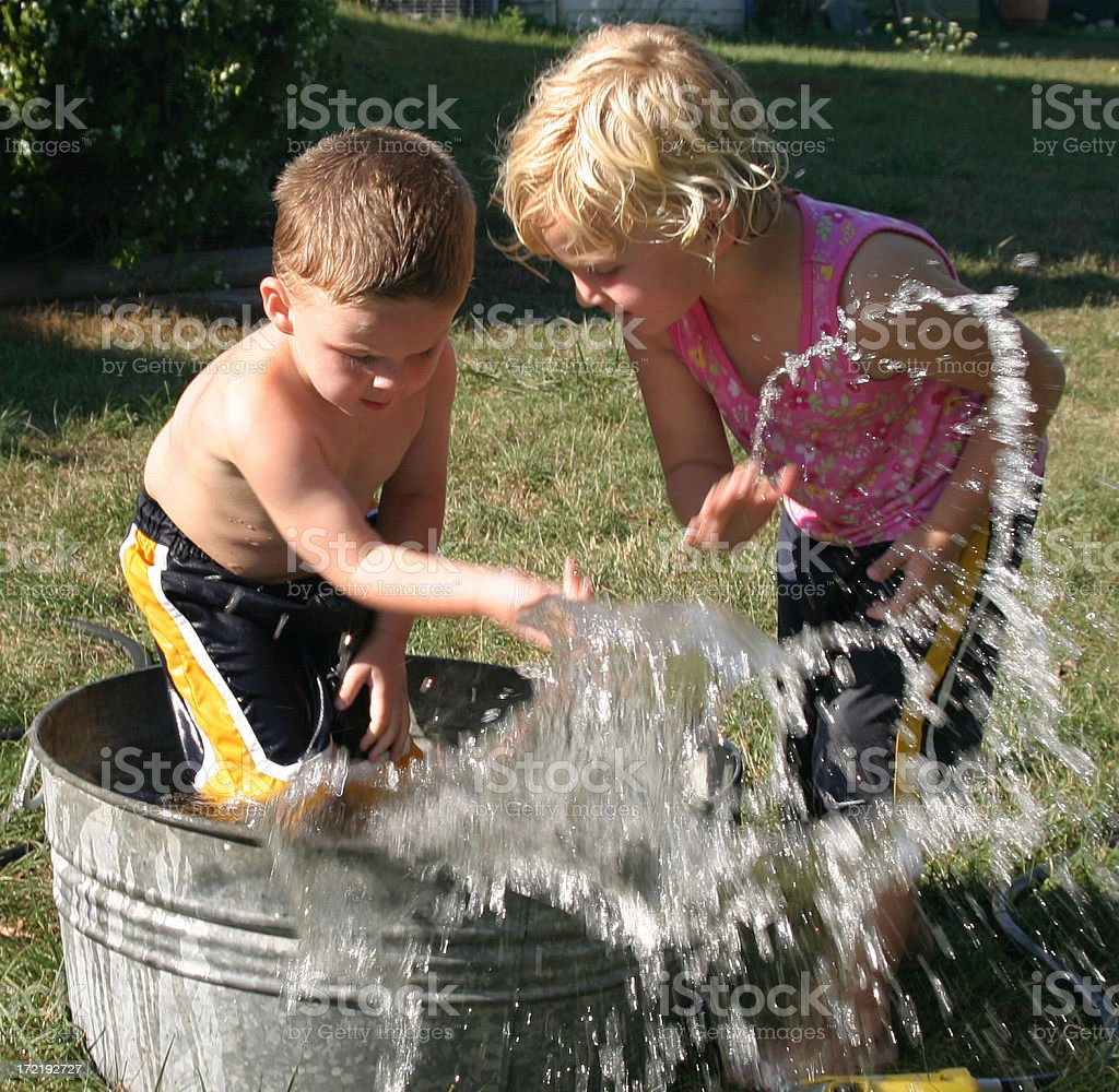 splashin royalty-free stock photo