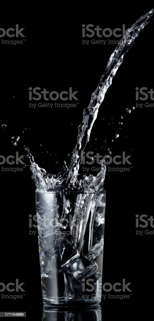 splashing drink royalty-free stock photo