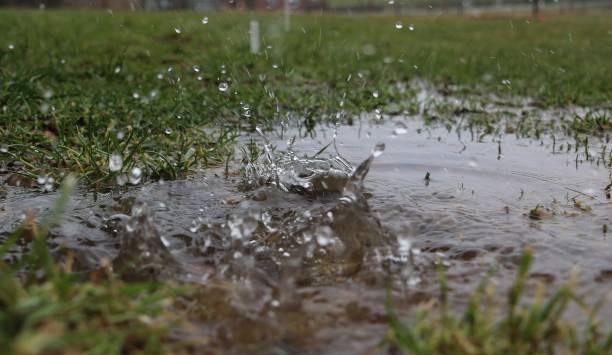 Spritzwasser, Regen – Foto