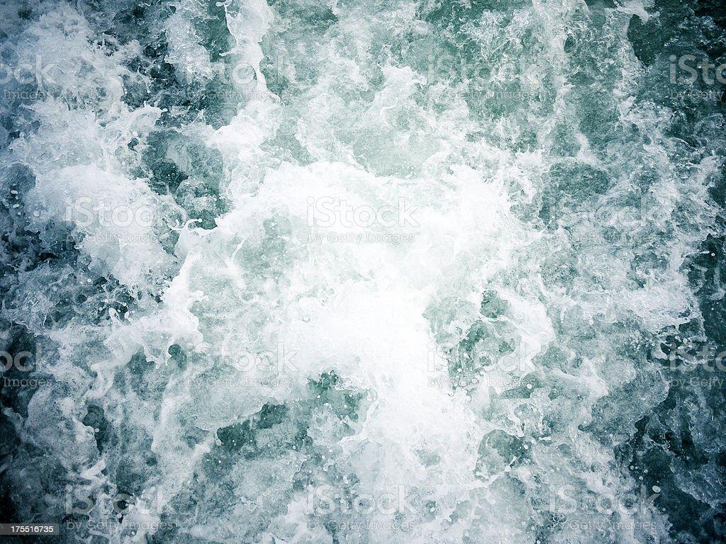 Splashing Water Background stock photo