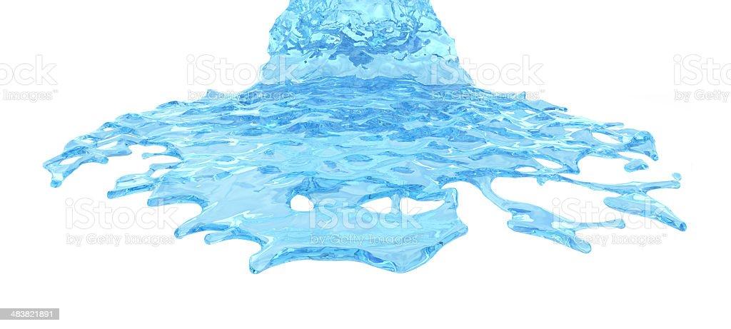 Splashy! royalty-free stock photo