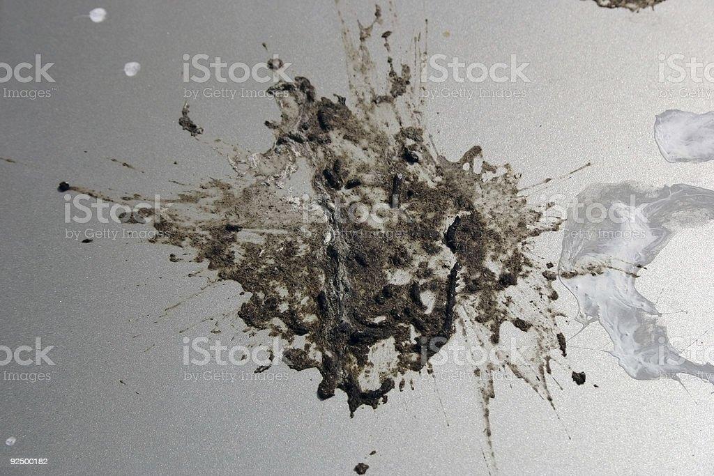 Splat royalty-free stock photo