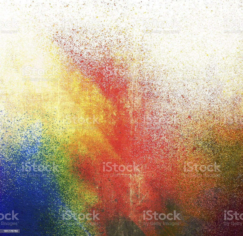 Splatter paint stock photo