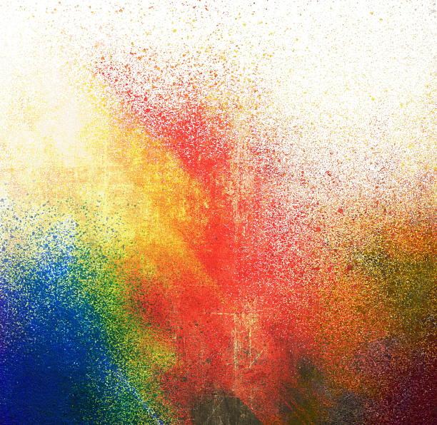 Splatter paint stock photo
