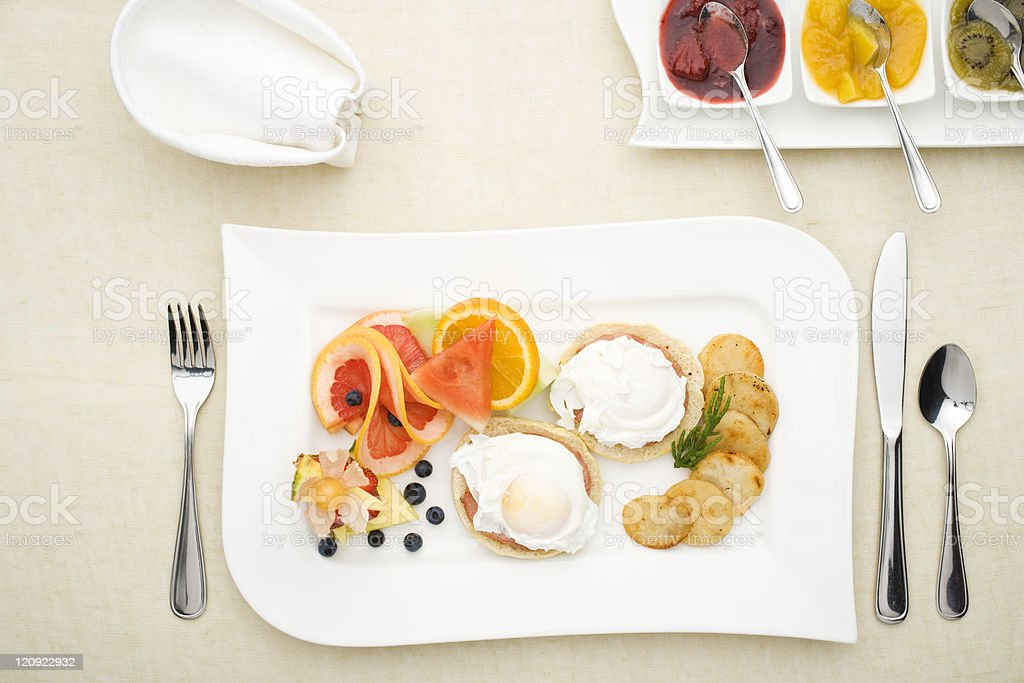Splendid breakfast royalty-free stock photo