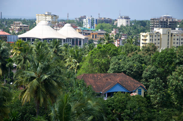 Herrliche Aussicht auf grün & Clean Mangalore – Foto