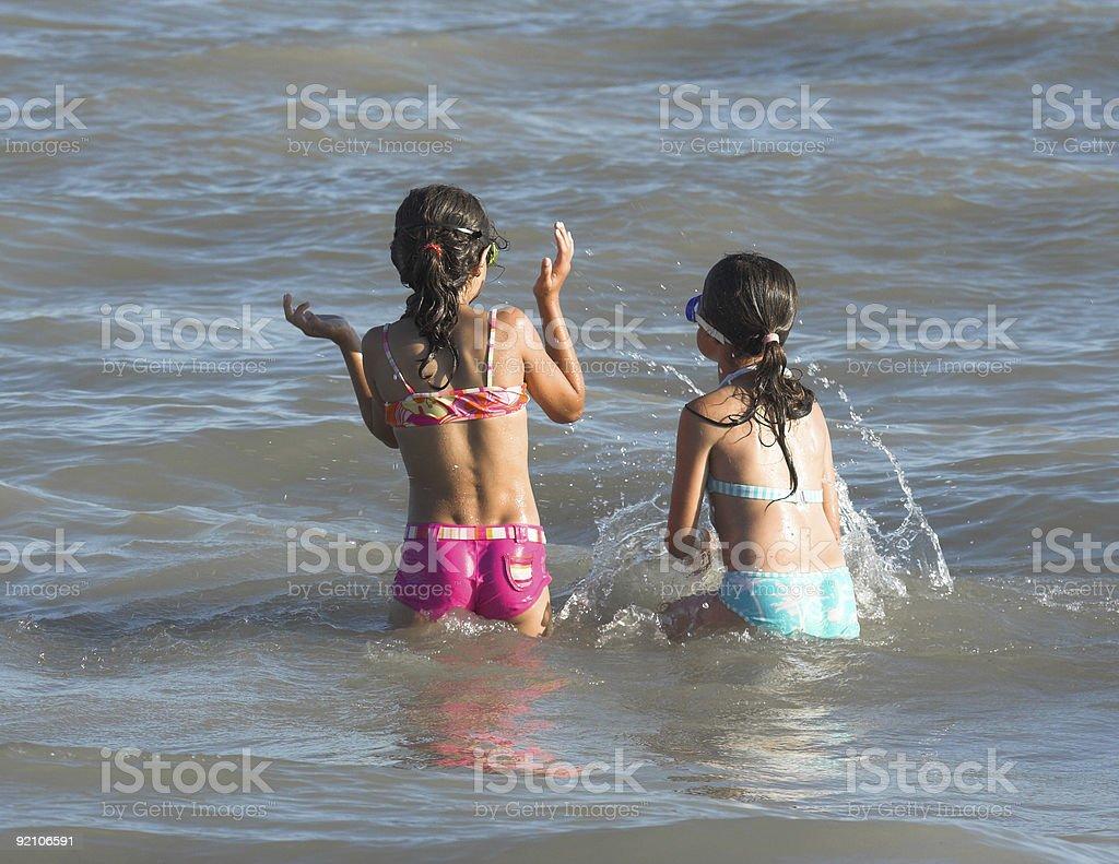 Splish Splash stock photo
