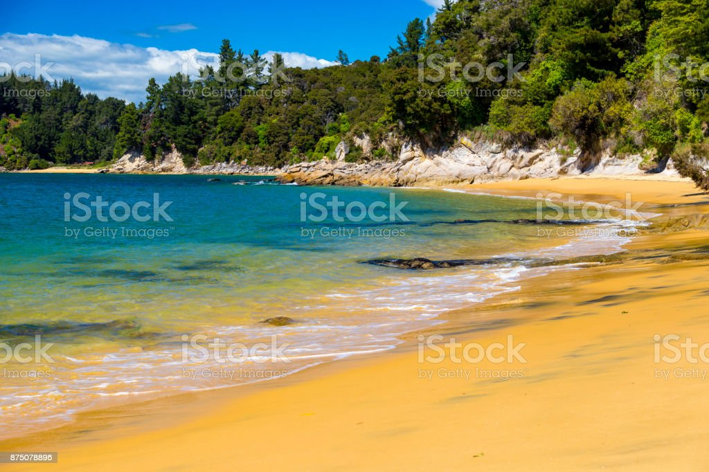 Split Apple Rock Beach stock photo