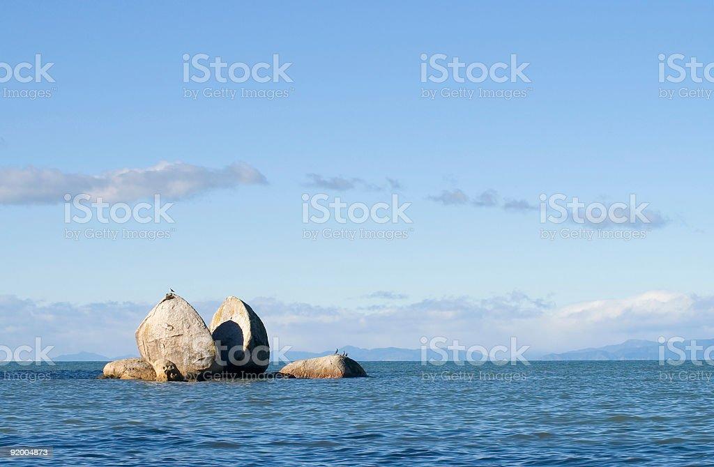 Split Apple Rock stock photo