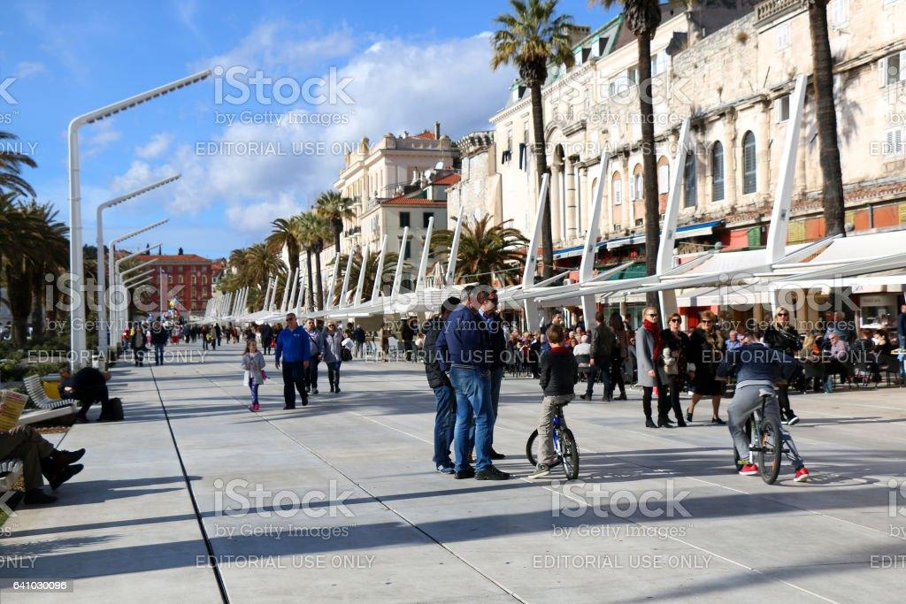 Split, Kroatien  – Foto