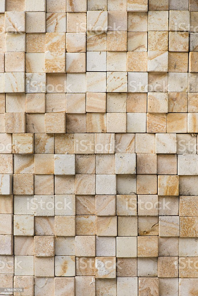 Split Marble Tiling royalty-free stock photo