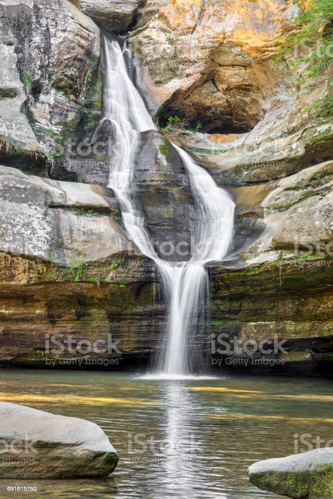 Split Personality - Cedar Falls stock photo
