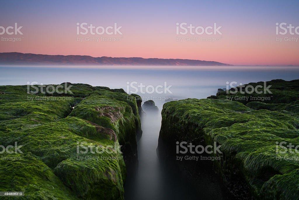 Split, Point Reyes stock photo