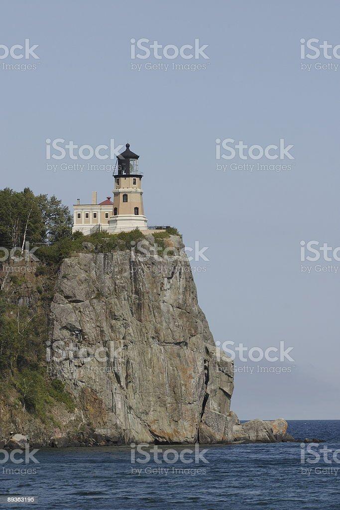 Split Rock Lighthouse royalty free stockfoto