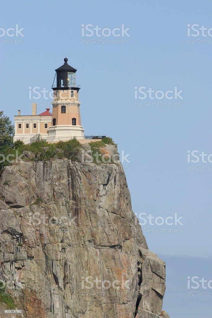 Split Rock Lighthouse royalty-free stock photo