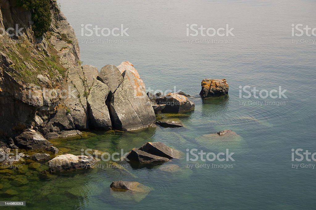 Split Rock stock photo
