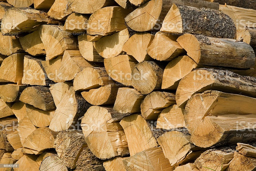 split wood royalty-free stock photo