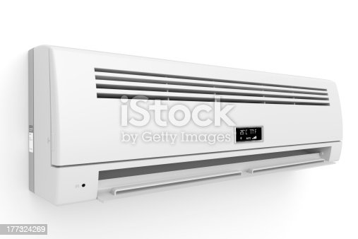 istock Split-system air conditioner 177324269