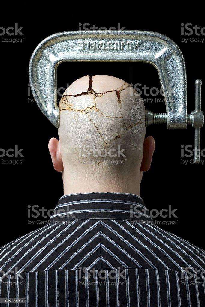Das Aufteilen Kopfschmerz – Foto