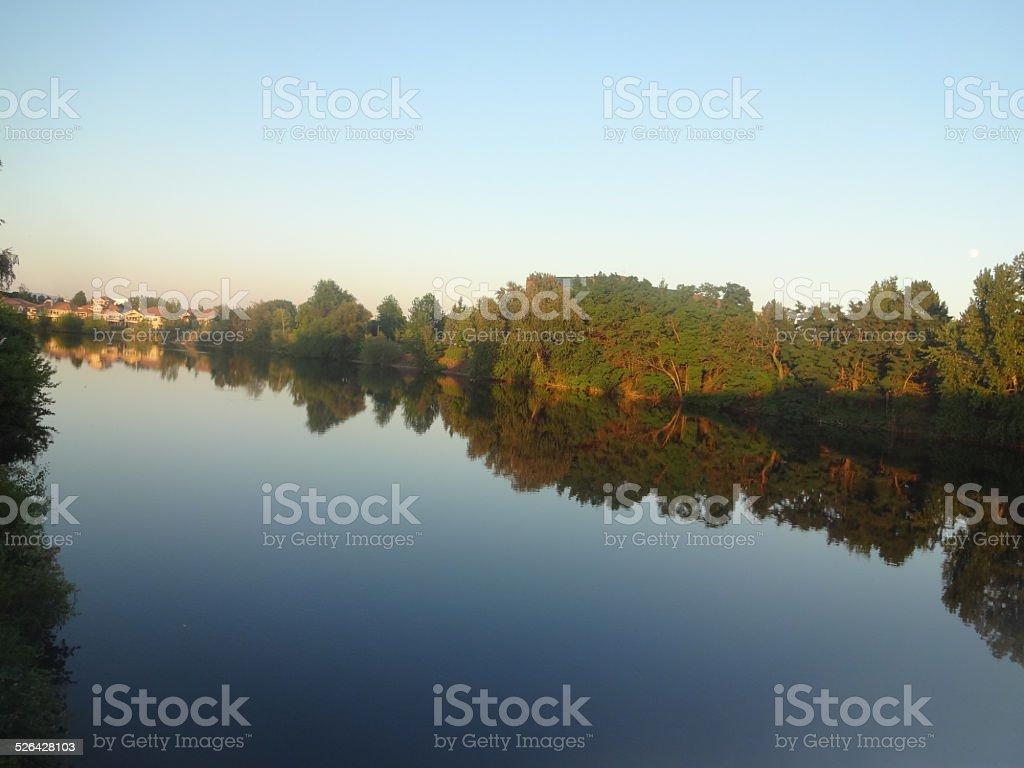 Spoakane River stock photo