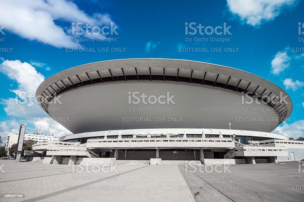 Spodek stock photo