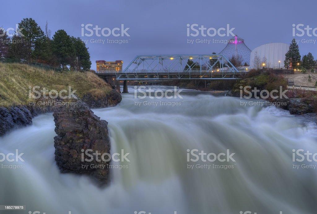Spokane stock photo